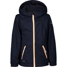 Icepeak Kimry Softshell Jacket Kids, blauw